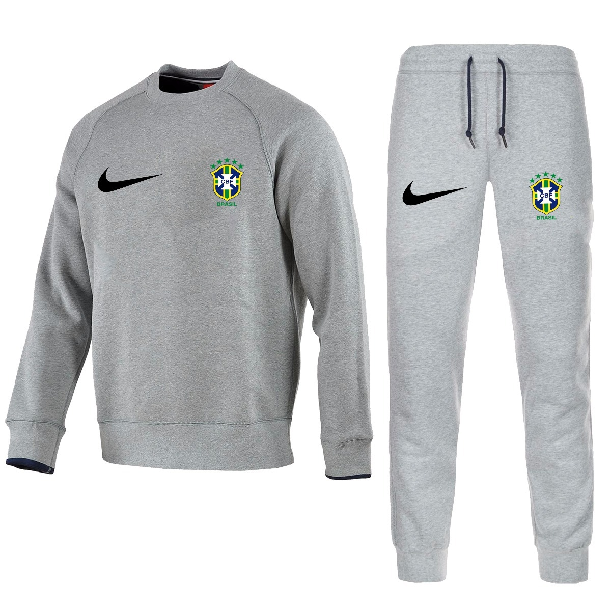 Kit Blusa Time Brasil + Calça Moletom Seleção Brasileira Nik - R ... b93703d9e28f3