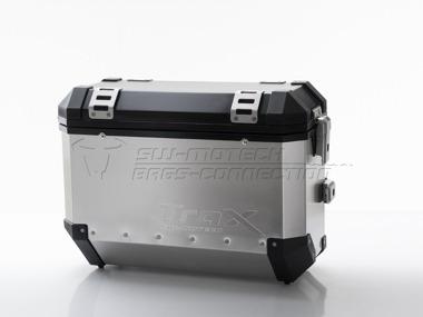 kit bmw r1200gs y lc  maletas laterales metalicas moto