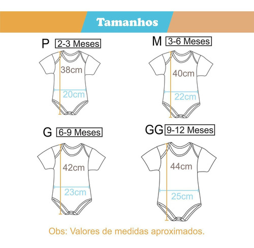kit body bebê thor + com capa p, m, g e gg