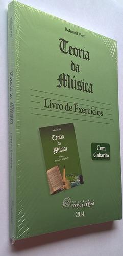 kit bohumil med- teoria da música novo + livro de exercícios