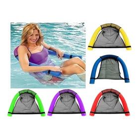 Kit Bóia Rede Cadeira Flutuante Para Piscina Promoção