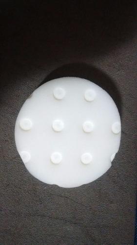 kit boinas para polimento ccs 3 polegadas 5 pcs + hand pad