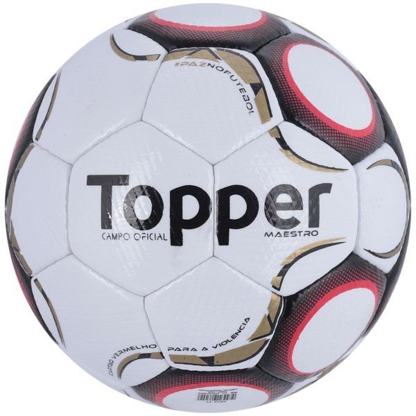 Kit Bola De Futebol De Campo Topper + Bomba De Ar Penalty - R  120 ... 57402ff5c8f3d