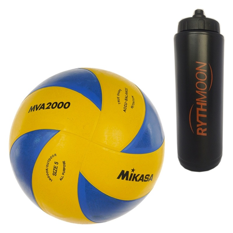 684d23a68e kit bola de volêi mikasa mva2000 + squeeze automático 1lt. Carregando zoom.