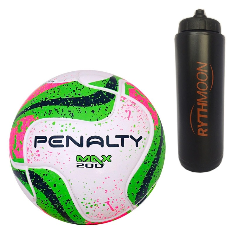 31d0d0bf0f kit bola futsal max 200 term vii penalty + squeeze. Carregando zoom.