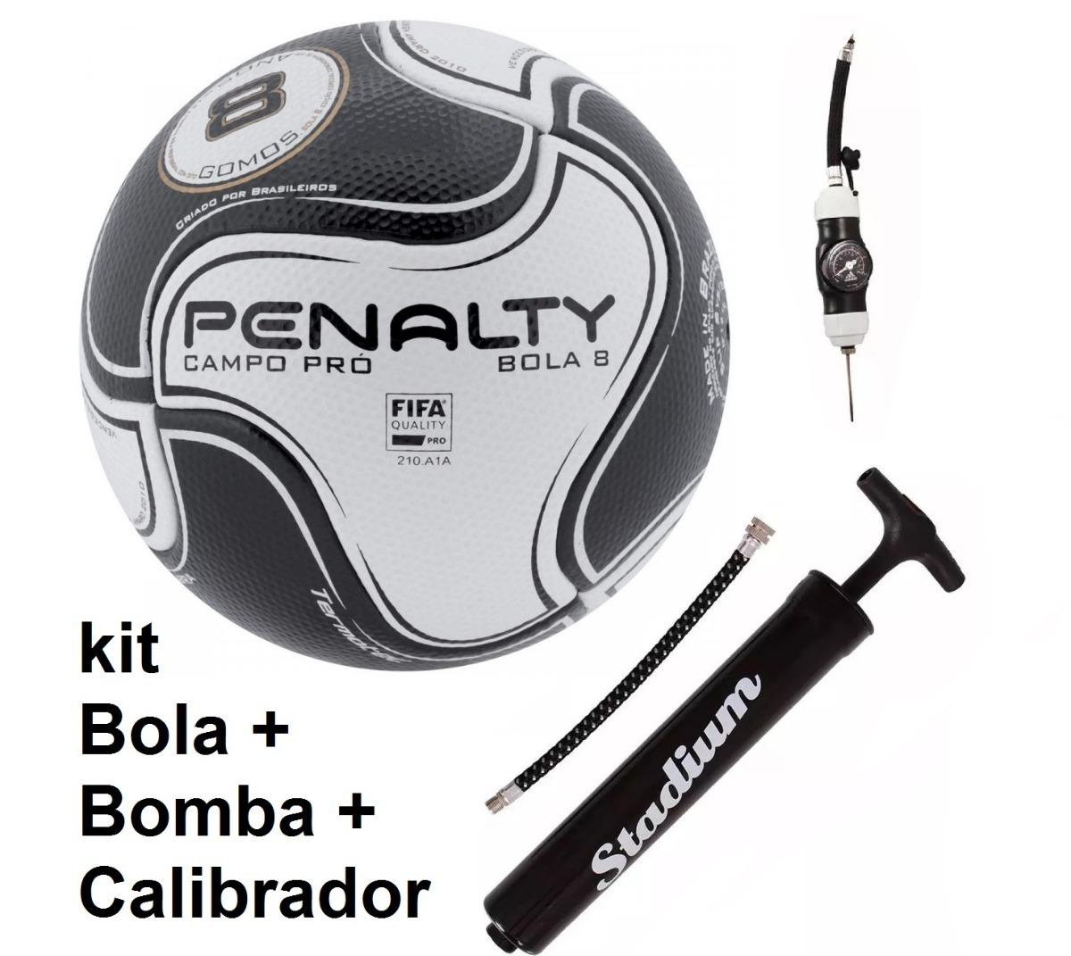 kit bola penalty+calibrador+bomba campo s11 pro 8 1magnus. Carregando zoom. c9576ce995b0d