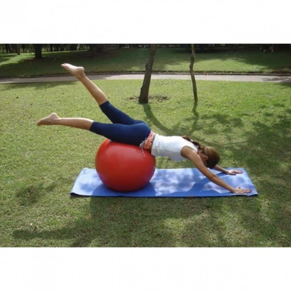 kit bolas suíças pilates com 3 tamanhos 55cm +65cm +75cm. Carregando zoom. 2b56dd3344a9b