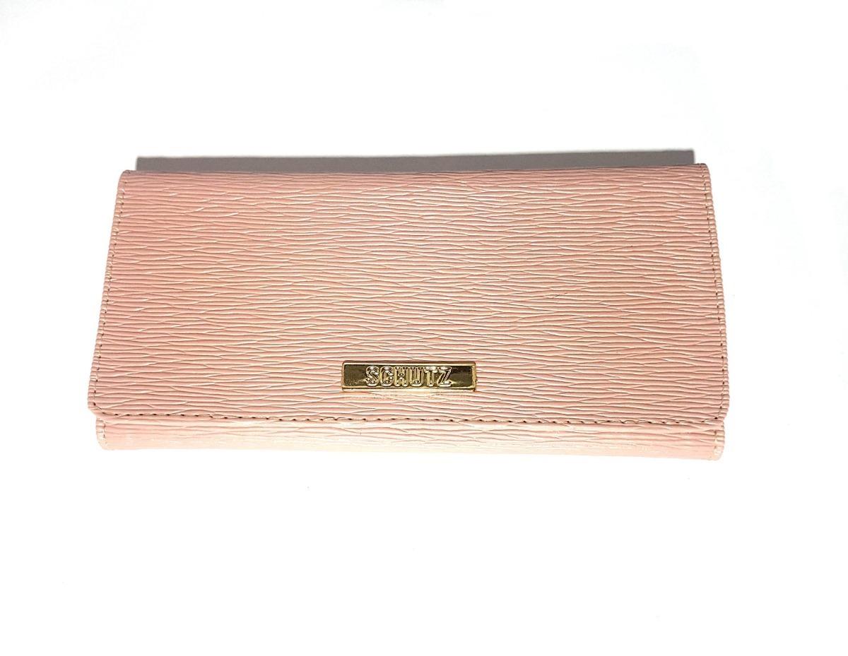 45c4662ed kit bolsa + carteira + bag feminina conjunto 3 peças salmão. Carregando  zoom.