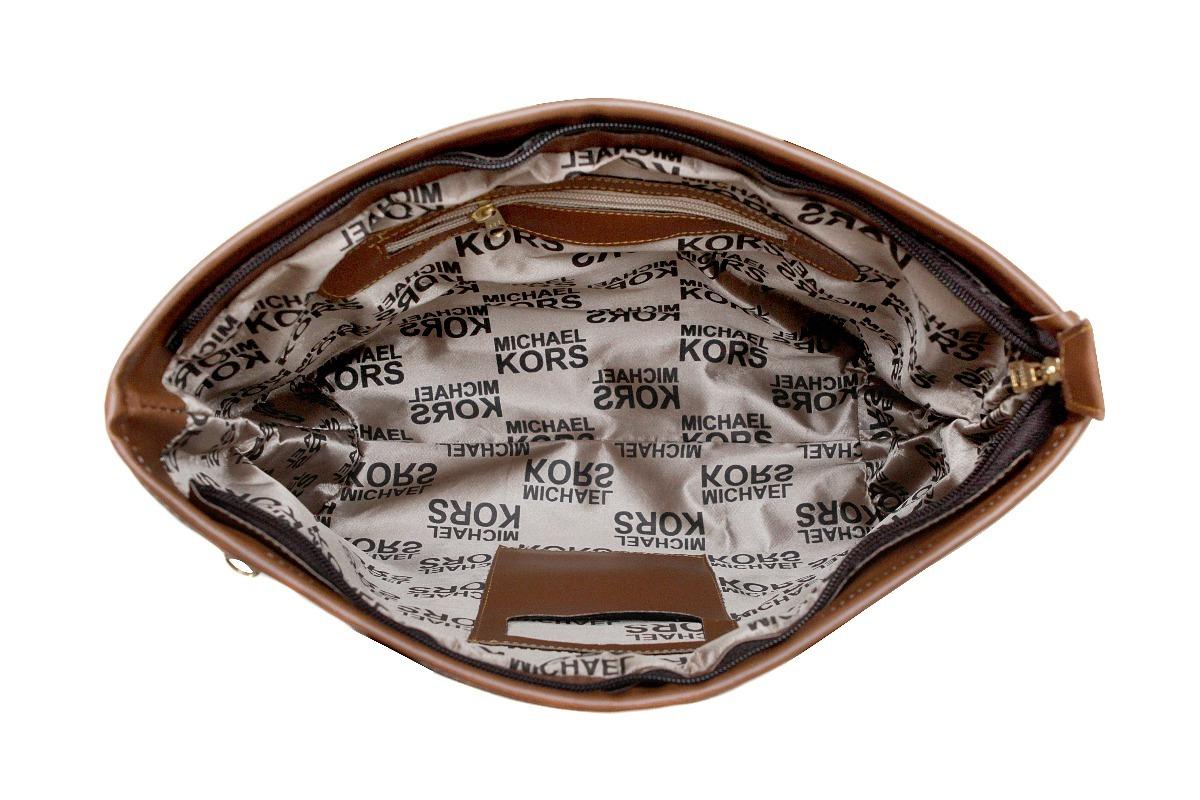 ee9f91ec1 Kit Bolsa + Carteira Feminina Mk Couro Ecológico !!! - R$ 115,00 em ...