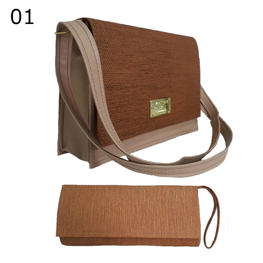 405382539 kit bolsa feminina + carteira super promoção moda elegante. Carregando zoom.