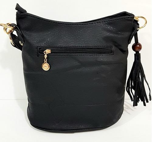 kit bolsa feminina tiracolo carteiro ombro carteira promoça