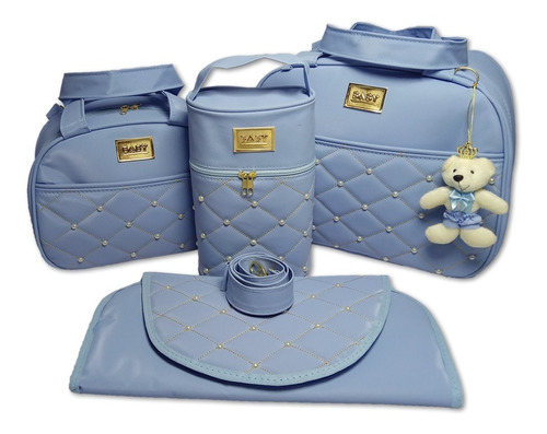 kit bolsa mala bebe saída de maternidade mega promoção