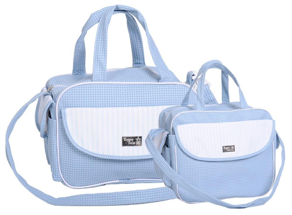 3ed26c6d8c kit bolsa maternidade - baby classic - azul bebê. Carregando zoom.