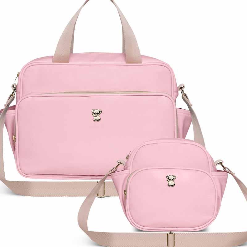 da8515994 kit bolsa maternidade classic for baby marina - rosa. Carregando zoom.