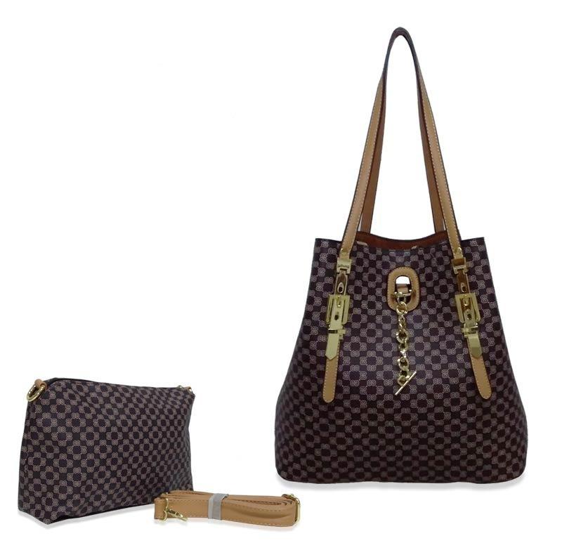 25661b9c0 kit bolsa sacola feminina shopper + transversal menor preço. Carregando  zoom.