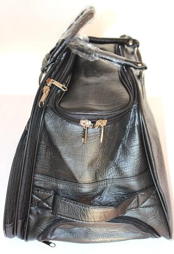 kit bolsa viagem grande cor marrom ou preta