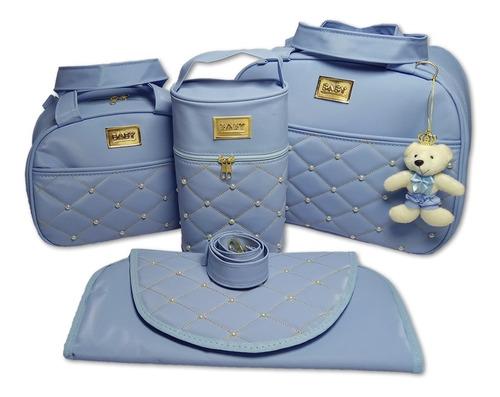 kit bolsas de bebê bolsa maternidade menino/menina 4 pcs