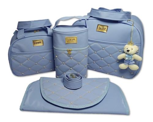 kit bolsas de bebê mala de maternidade menino/menina