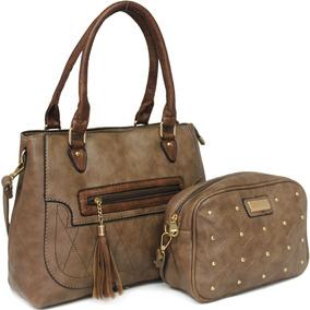 2eac15b94 Bolsas Femininas, Escolha Bolsas De Qualidade E Beleza - Bolsas de Couro  Ocre no Mercado Livre Brasil