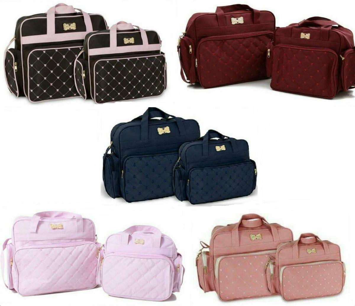 a38487e583 kit bolsas maternidade charme m baby 5 cores oferta só hoje. Carregando zoom .