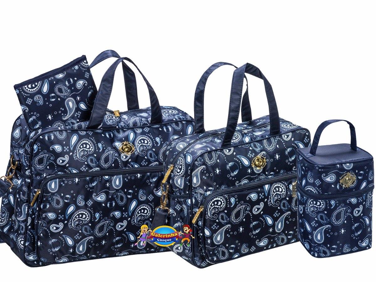 kit bolsas maternidade e frasq azul original tigor t tigre. Carregando zoom. eceb91ccf2a