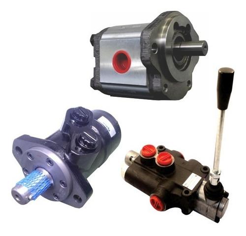 kit bomba + comando + motor hidráulico