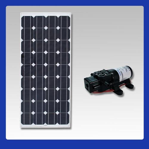 kit bomba dágua solar com painél fotovoltaico 30w ( placa )