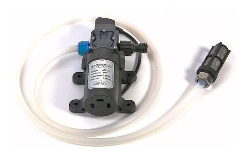 kit bomba dagua solar lavadora alta pressão 12v 80w 130psi