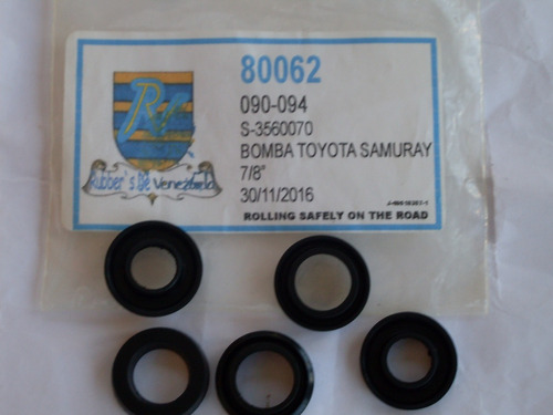 kit bomba de freno toyota 7/8 samuray,pick up 88-92