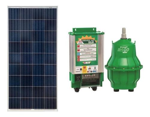 kit bomba reservat anauger r100 + placa solar 335w + sensor