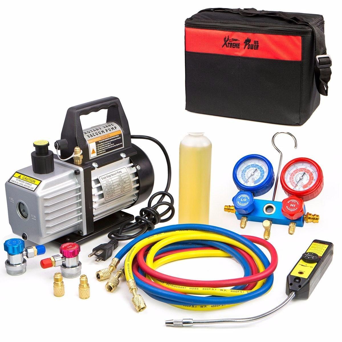 Kit Bomba Vac 237 O 4cfm A C Refrigeraci 243 N Detector Fugas 1