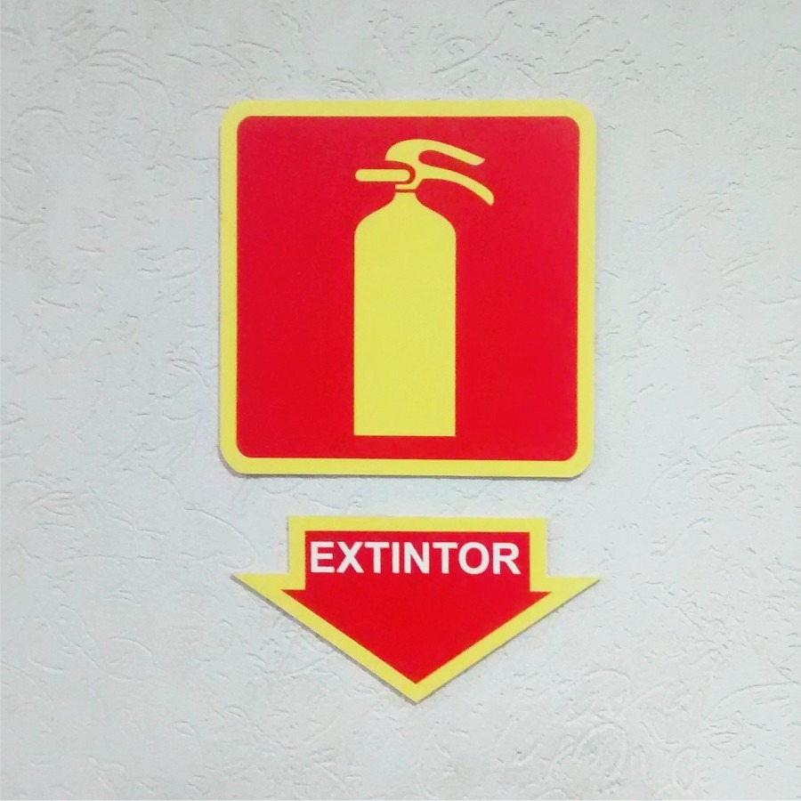 Armario Definición Rae ~ Kit Bombeiro Combate u00c0 Inc u00eandio Adesivo + Placas Extintor R$ 96,00 em Mercado Livre