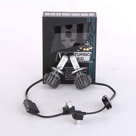 Kit Bombillo Led H4 V16 Moto Carro 4800 Lm Tecnologia Canbus