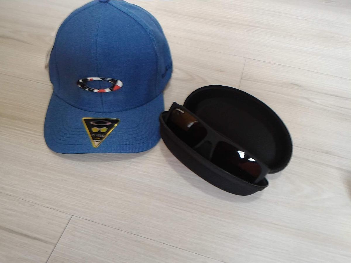 kit boné masculino azul quick + óculos de sol promoção. Carregando zoom. 7dfd0e0dc38