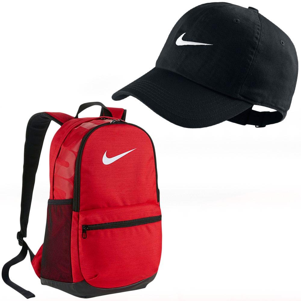 6b4cce355fe29 Kit Boné Nike Juvenil + Mochila Nike Promoção Imperdível!