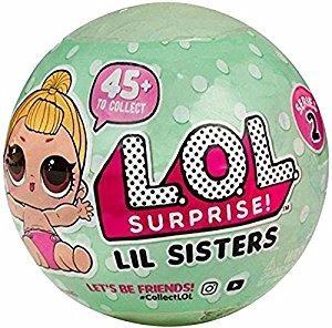 kit boneca lol surpresa série 2 + boneca lql sisters serie 2