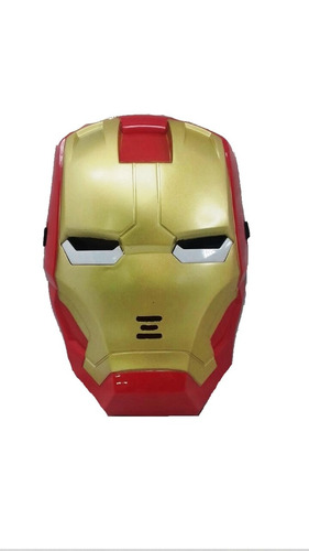 kit boneco homem de ferro vingadores marvel+ máscara