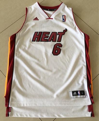 kit boneco raro + camisa oficial lebron james #6 miami heat