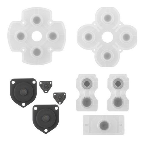 kit borracha condutiva reparo para o controle ps4
