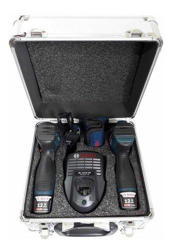 kit bosch parafusadeira gsr 120li + chave de impacto gdr12