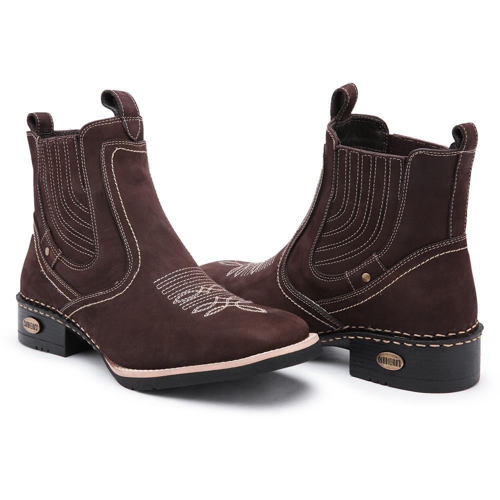 a9132a5a56a14 kit bota cinto country bico quadrado couro cano médio masc. Carregando zoom.