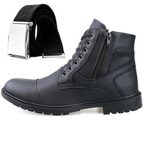 3e5be147f1 Kit Bota Coturno Sapato Casual Advent Trilha Confort + Cinto