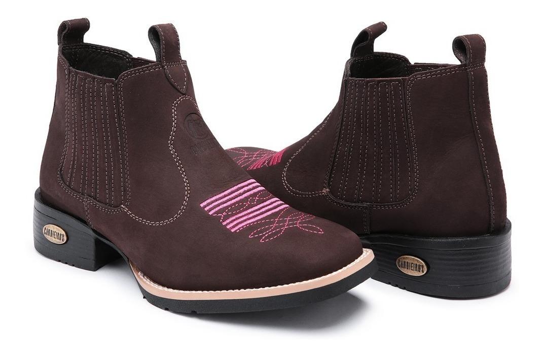 e596f3ff10c6a kit bota texana + cinto country couro feminino bico quadrado. Carregando  zoom.