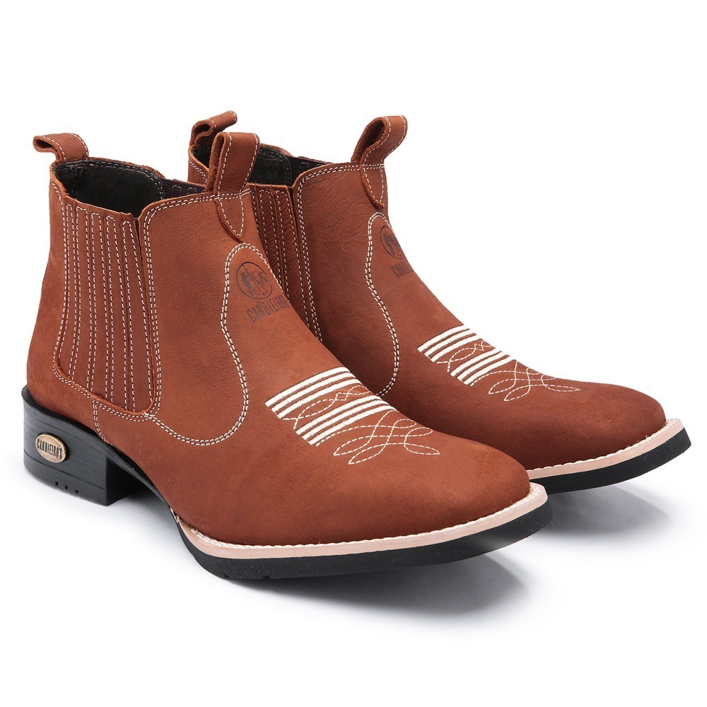 kit bota texana cinto country couro masculino bico quadrado. Carregando  zoom. a4f805ee346