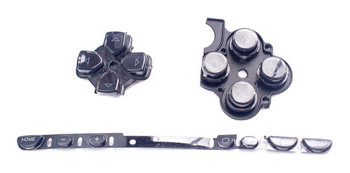 kit botones playstation portable sony psp 2000 negro