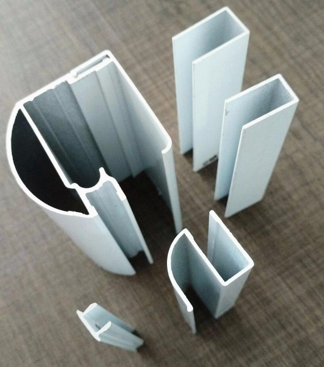 Imagens de #576F74 Kit Box Banheiro Vidro Temperado Frontal 1 20m R$ 114 00 em Mercado  1057x1200 px 2534 Box Banheiro Vidro Temperado