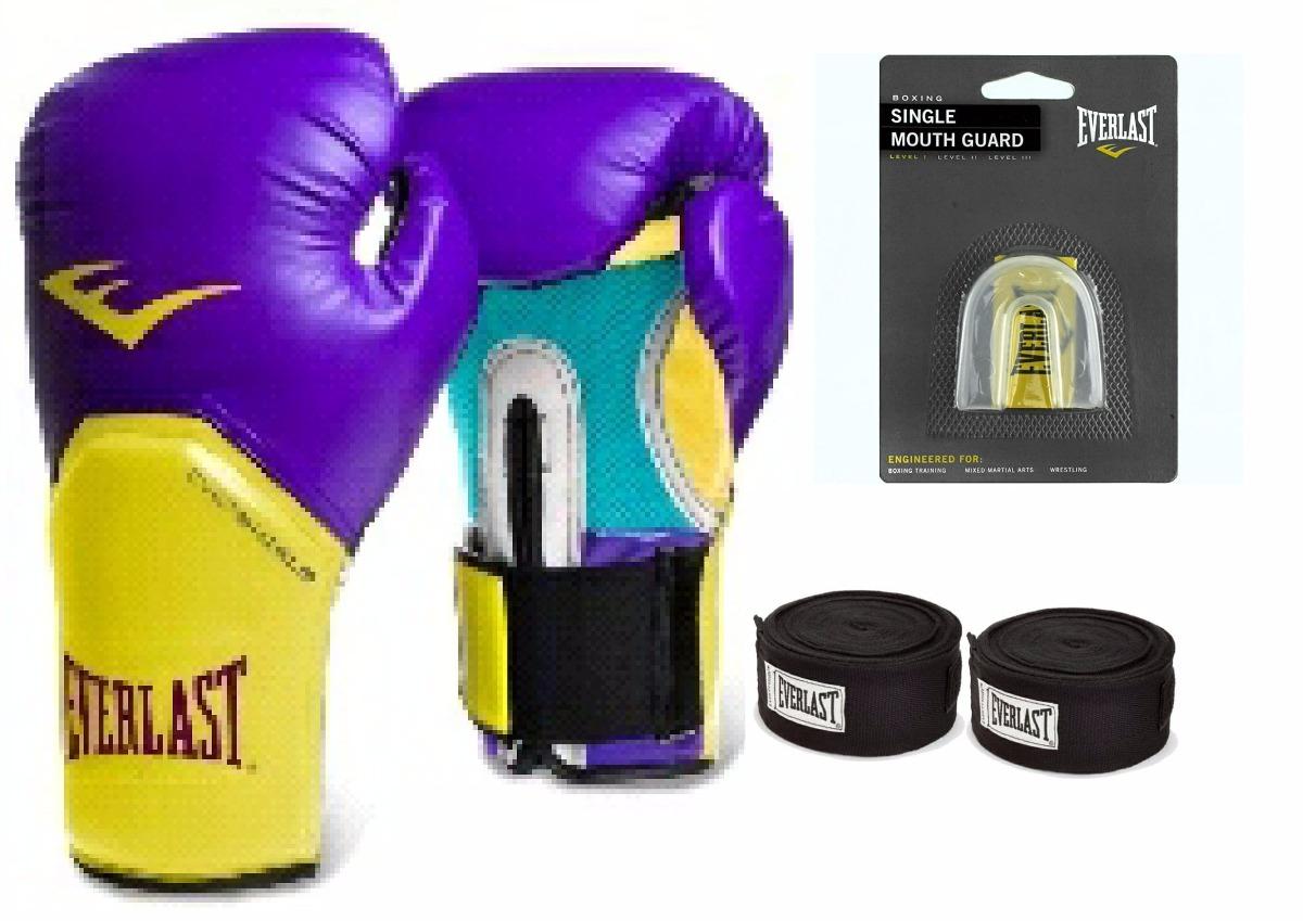 kit boxe  muay thai everlast completo pro style elite roxo. Carregando zoom. 05059563ff214