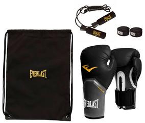17f0889e6 Kit Boxe Elite Everlast Bolsa Naja 12oz - Equipamentos e Acessórios para  Artes Marciais no Mercado Livre Brasil