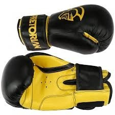 ff0add081 Kit Boxe Muay Thai First Pretorian Bucal Bandagem Luva 14oz - R  219 ...