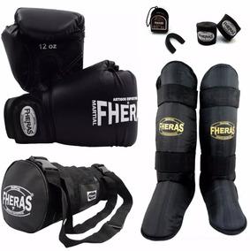 bfbb26b08 Luvas De Boxe E Caneleiras Rudel - Esportes e Fitness no Mercado Livre  Brasil